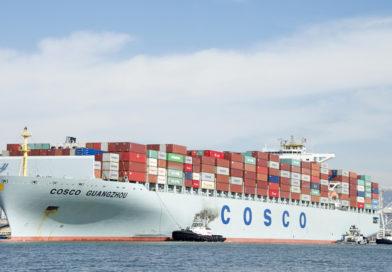 A pireuszi kikötő konténerforgalmának alakulása
